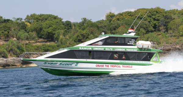 Fast Boat to Gili Islands and Lombok