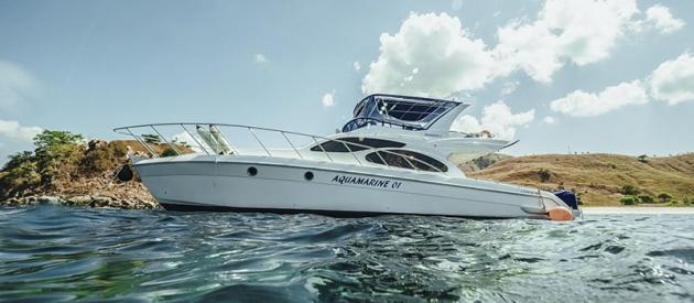 Aquamarine Private Speedboat Charter
