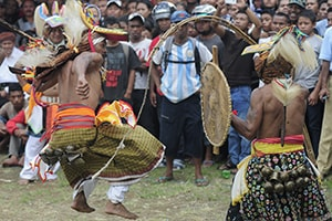 Caci Traditional Whip Fighting Tour